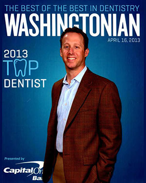 Best of the Best in Dentistry, Washingtonian 2013